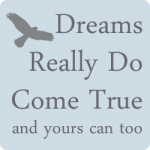 Dreams Really Do Come True Website Widget