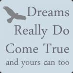 Dreams Really Do Come True Website Widget