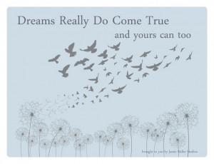 Dreams Really Do Come True Ebook